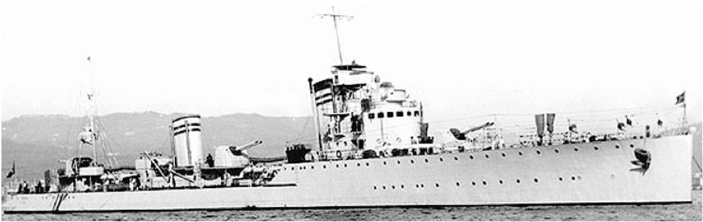 Эскадренный миноносец «Nicolò Zeno»