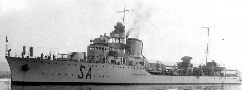 Эскадренный миноносец «Saetta»