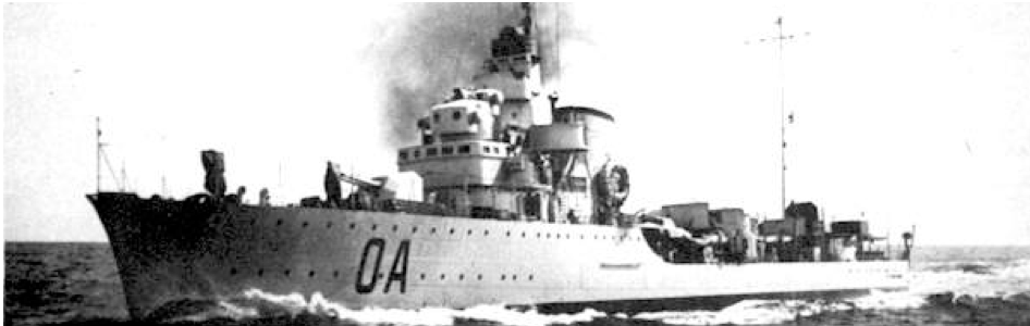 Эскадренный миноносец «Alfredo Oriani»