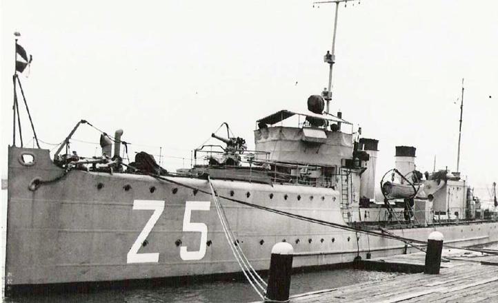 Миноносец «Z-5»