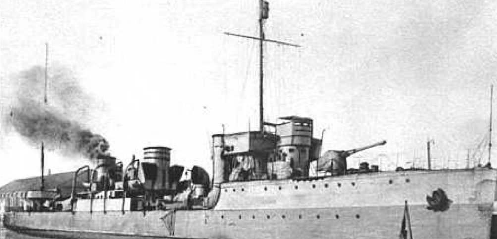 Эскадренный миноносец «Almirante Villar»