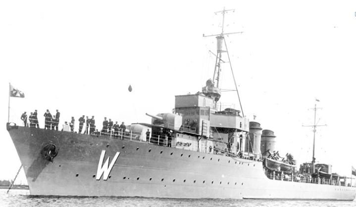 Эскадренный миноносец «Wicher»