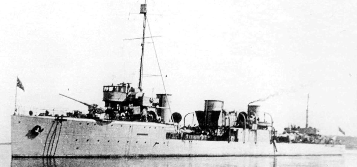 Эскадренный миноносец «Карл Либкнехт» (Капитан Белли)