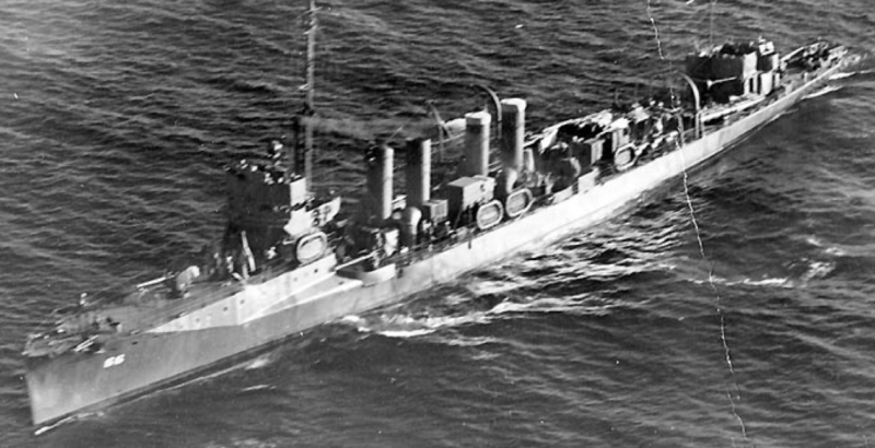 Эскадренный миноносец «Allen» (DD-66)