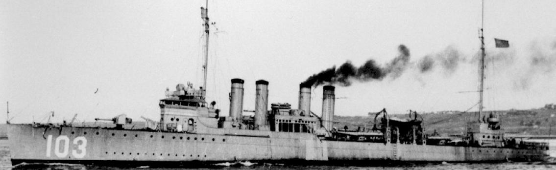 Эскадренный миноносец «Schley» (DD-103)