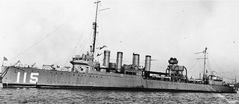 Эскадренный миноносец «Waters» (DD-115)