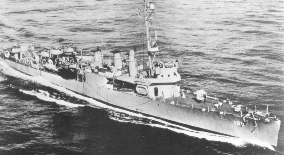 Эскадренный миноносец «Kennison» (DD-138)