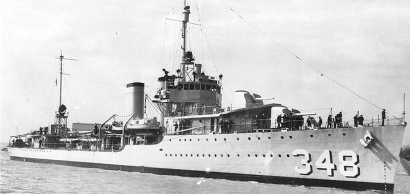 Эскадренный миноносец «Farragut» (DD-348)