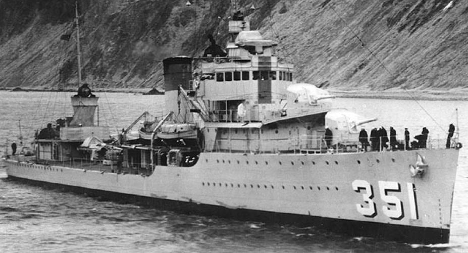 Эскадренный миноносец «Macdonough» (DD-351)