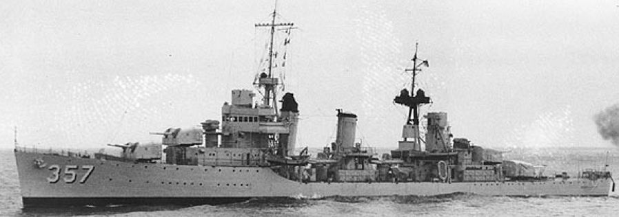 Эскадренный миноносец «Selfridge» (DD-357)
