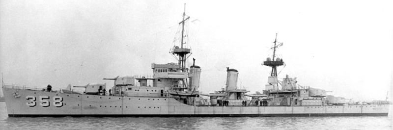 Эскадренный миноносец «Mc Dougal» (DD-358)