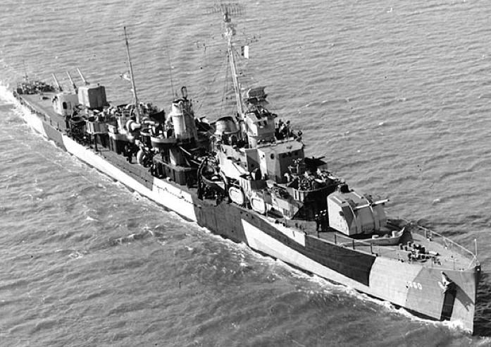 Эскадренный миноносец «Phelps» (DD-360)