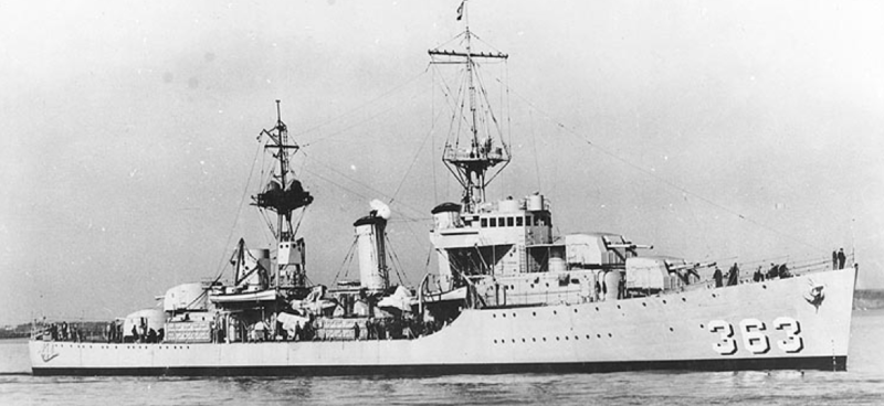 Эскадренный миноносец «Balch» (DD-363)