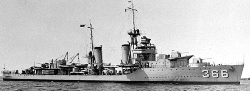Эскадренный миноносец «Drayton» (DD-366)