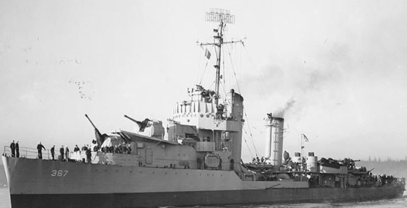 Эскадренный миноносец «Lamson» (DD-367)
