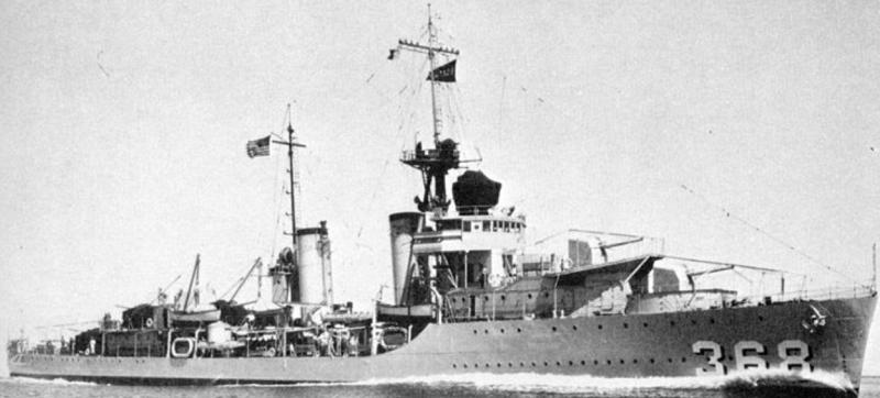 Эскадренный миноносец «Flusser» (DD-368)