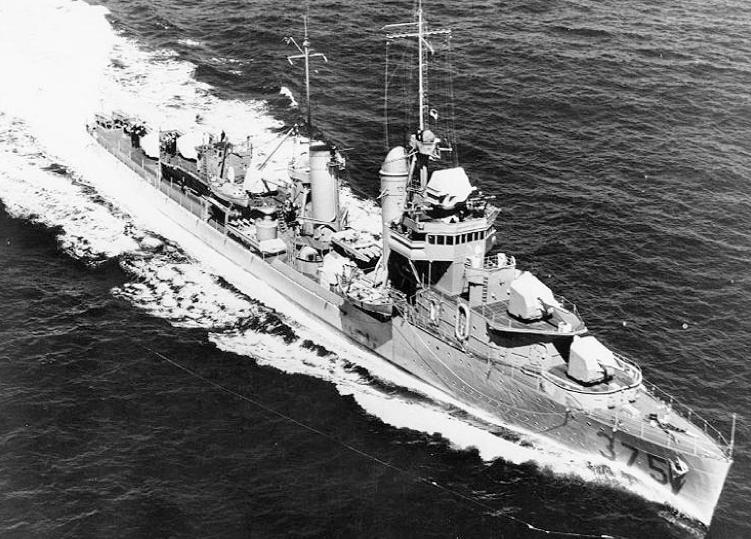 Эскадренный миноносец «Downes» (DD-375)