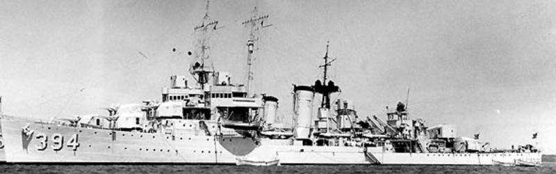 Эскадренный миноносец «Sampson» (DD-394)