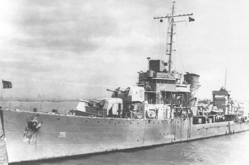Эскадренный миноносец «Davis» (DD-395)