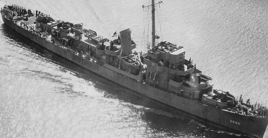 Эскортный миноносец DE-99 «Cannon»