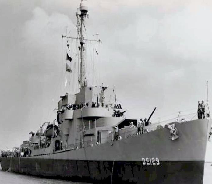 Эскортный миноносец DE-129 «Edsall»