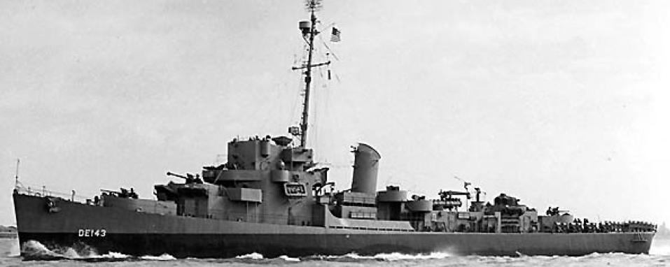 Эскортный миноносец DE-143 «Fiske»
