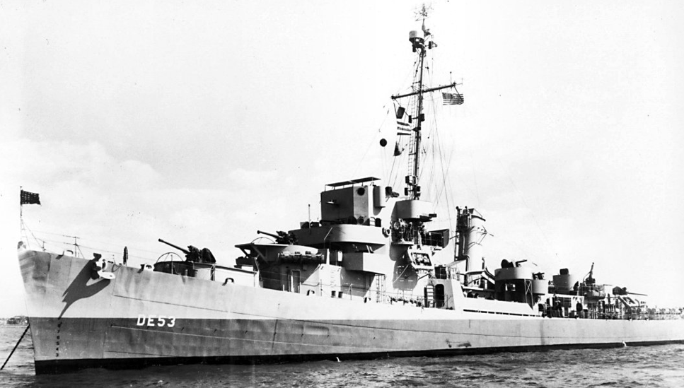 Эскортный миноносец DE-53 «Charles Lawrence»