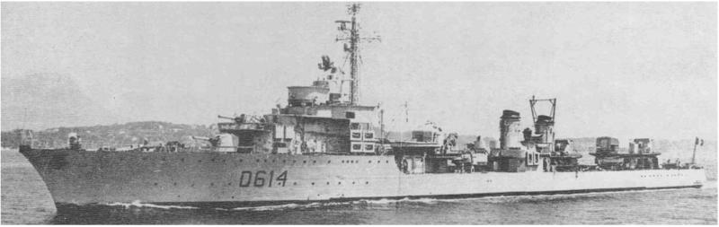 Контрминоносец «Albatros»
