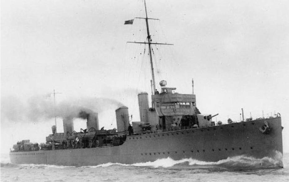 Эскадренный миноносец «Almirante Lynch»