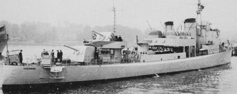 Эскадренный миноносец «Karlskrona»