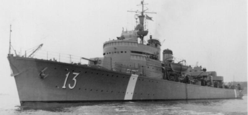 Эскадренный миноносец «Hälsingborg»