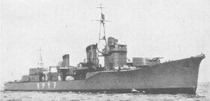 Эскадренный миноносец «Asagumo»