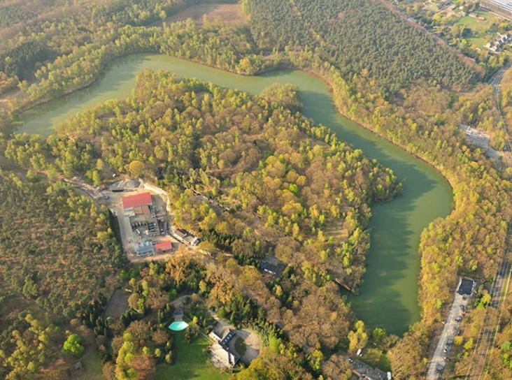 Вид на форт с высоты.
