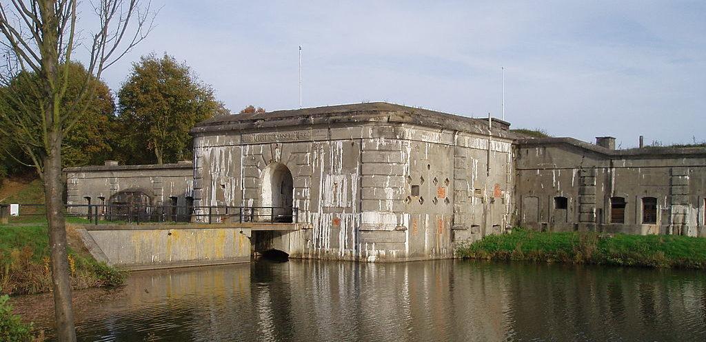Общий вид форта.