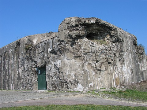 Казематы форта.