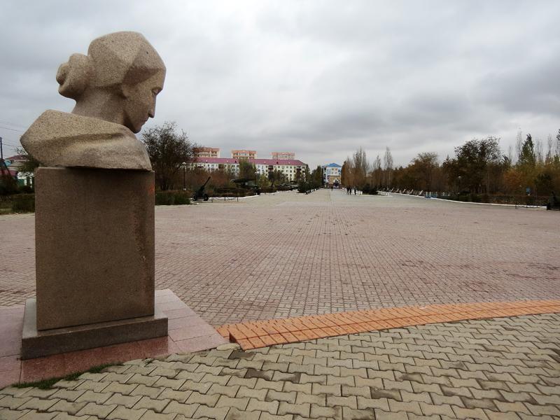 Памятник скорбящей Невесте.
