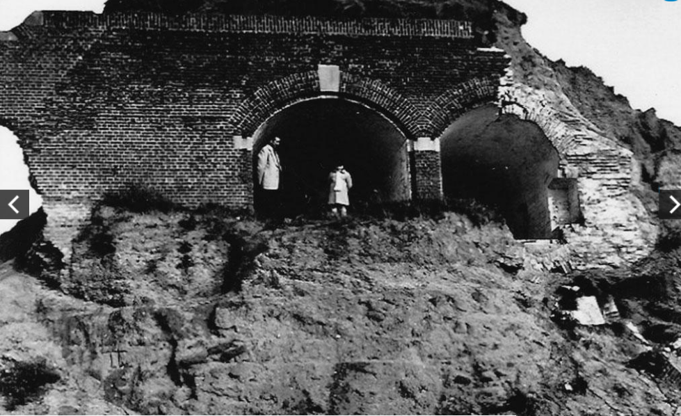 Развалины форта. 1959 г.