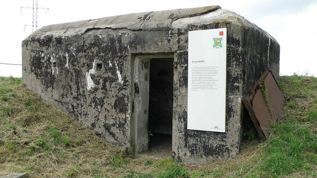 Один из казематов форта.