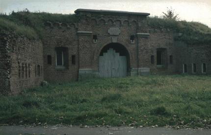 Вход на территорию форта.