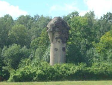 Воздухозаборная башня форта.