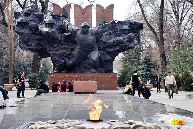 Центральная композиция мемориала.