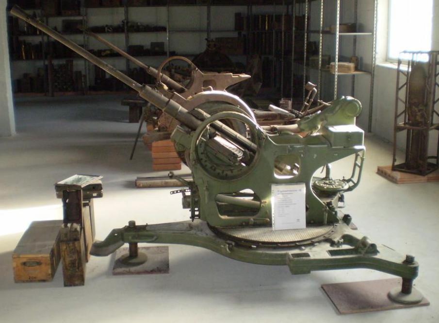 Артиллерия в музее.