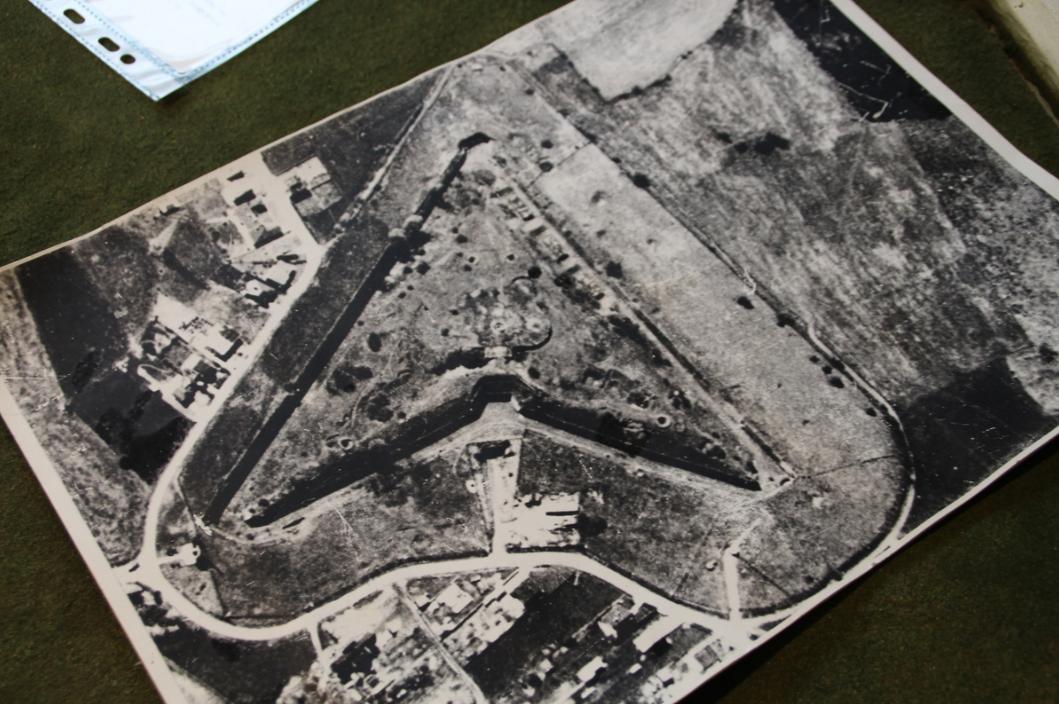 Аэрофотосъемка форта.