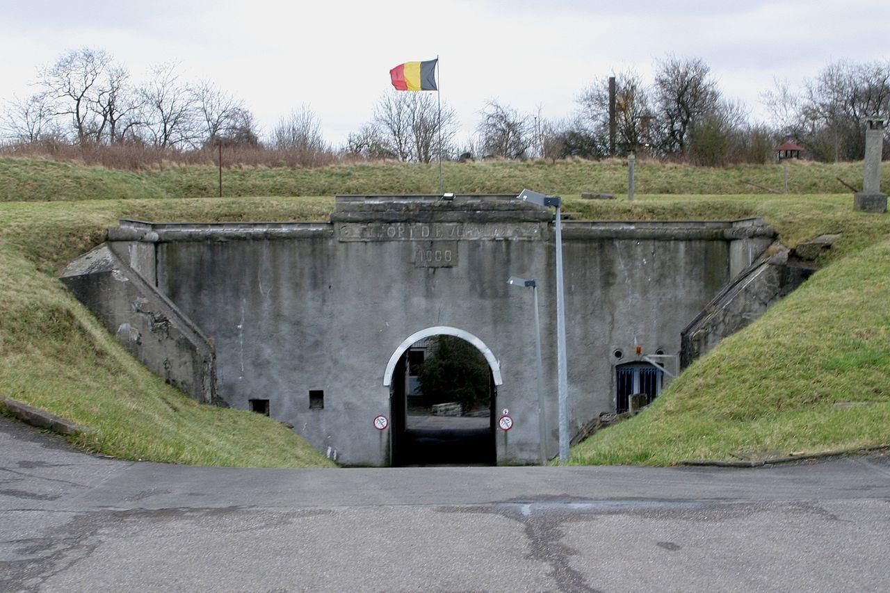 Главные ворота в форт.