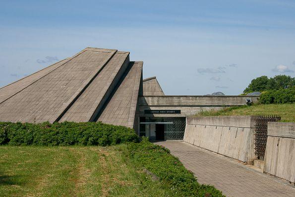 Вход в музей форта.