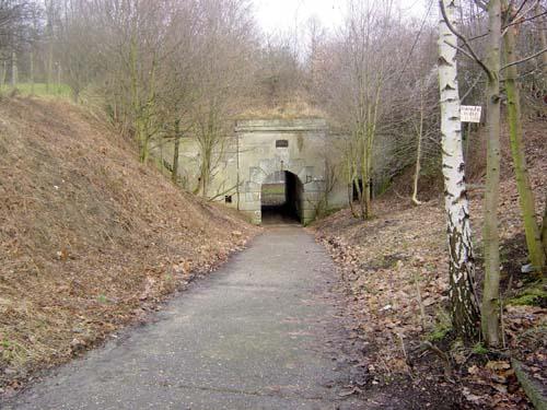 Вход на территорию форту.