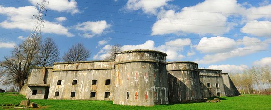 Общий вид крепости.