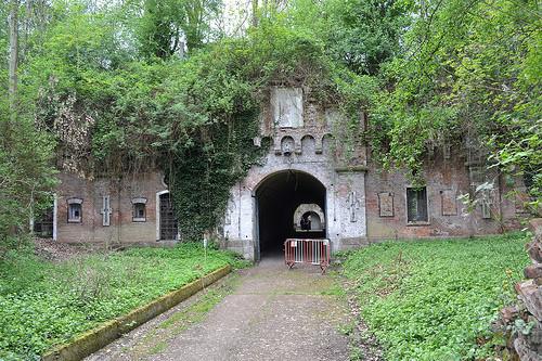 Главные ворота форта.