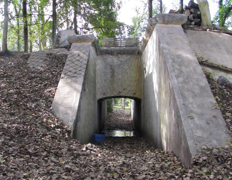Сооружения форта.