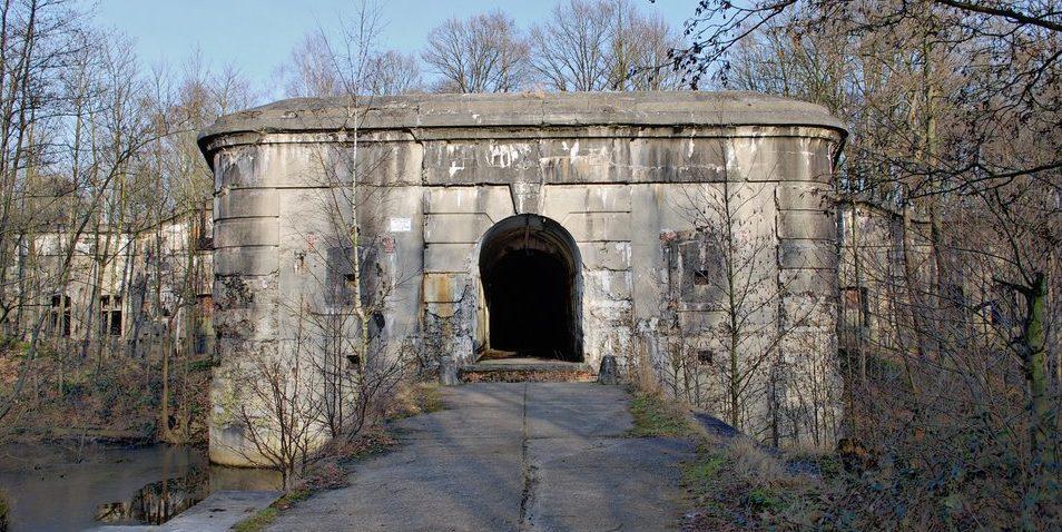 Главный вход форта.
